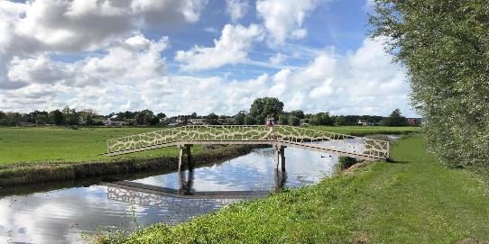 Voetgangersbrug Schulpvaart