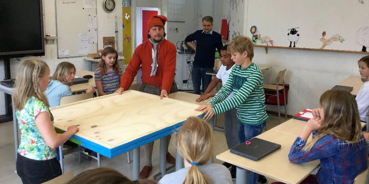 Cornelis in de klas