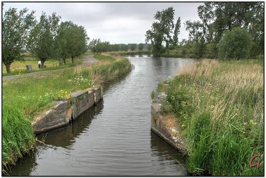 inundatiesluis bij Spaarndam