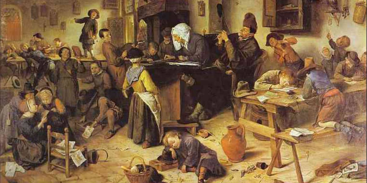 Jan Steen, collectie National Collection of Scotland, Ediburgh