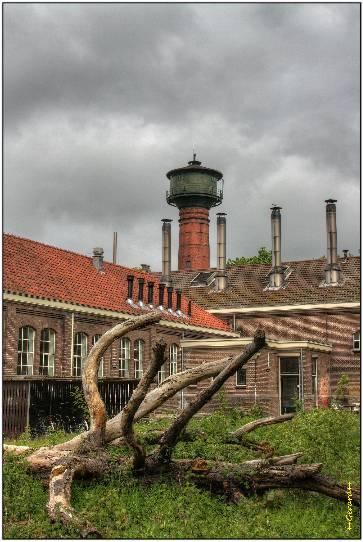 Watertoren en energiegebouw 26 mei 2013